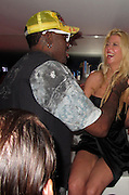 **EXCLUSIVE**.Tara Reid, Dennis Rodman..VIP Room Nightclub..St. Tropez, France..Thursday, July 29, 2010..Photo ByiSnaper.com/ CelebrityVibe.com.To license this image please call (212) 410 5354; or Email:CelebrityVibe@gmail.com ;.website: www.CelebrityVibe.com.