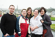 Paddy Conneely , Caroline Folan Marie Coohill  Ruth Freeman and  Suzi ward <br /> Photo:Andrew Downes