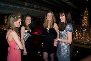 ALICE MCFARLANE; SOPHIE WHITE; ROWENA CHALWIN; SUSIE CORETH. The 30th White Knights charity  Ball.  Grosvenor House Hotel. Park Lane. London. 10 January 2009 *** Local Caption *** -DO NOT ARCHIVE-© Copyright Photograph by Dafydd Jones. 248 Clapham Rd. London SW9 0PZ. Tel 0207 820 0771. www.dafjones.com.<br /> ALICE MCFARLANE; SOPHIE WHITE; ROWENA CHALWIN; SUSIE CORETH. The 30th White Knights charity  Ball.  Grosvenor House Hotel. Park Lane. London. 10 January 2009
