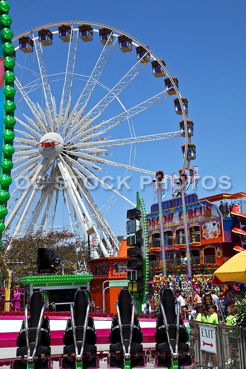 Ferris Wheel at the Orange County Fairgrounds