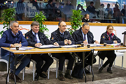 Jury<br /> BWP hengstenkeuring 2019<br /> 3de phase - Sentower Park - Opglabeek 2019<br /> © Hippo Foto - Dirk Caremans