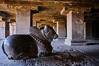 Inde, état de Maharashtra, Ellora, grottes d'Ellora classées au Patrimoine mondial de l'UNESCO, grotte N°15 // India, Maharashtra, Ellora cave temple, Unesco World Heritage, cave N°15