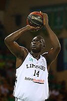 Frejus Zerbo  - 20.06.2015 - Limoges / Strasbourg - Finale Pro A<br /> Photo : Manuel Blondeau / Icon Sport