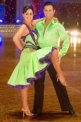 Jill Halfpenny and Darren Bennet pose at the Strictly Come Dancing on tour Photo call MEN Arena 21 January 2009 © Paul David Drabble