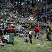 Sierra de los Cuchumatanes. Guatemala.
