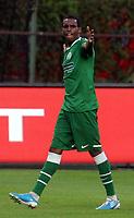 Fotball<br /> Kvalifisering UEFA Europa League<br /> 14.07.2011<br /> Ferencvaros v Aalesund<br /> Foto: Aleksandar Djorovic, Digitalsport<br /> <br /> Liban Abdi