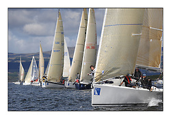 The Brewin Dolphin Scottish Series, Tarbert Loch Fyne...A-Crewed Interest on the start for Class Three...Credit : Marc Turner / CCC.For further information contact.Lorraine Alonzi..Mobile : 07947 799 451.Email : lorraine.alonzi@smarts.co.uk.