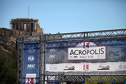 June 1, 2018 - Athens, Attica, Greece - The 2018 World Rally Championship Acropolis Rally ceremonial start under the Parthenon monument in Athens, Greece on June 1, 2018. (Credit Image: © Giorgos Georgiou/NurPhoto via ZUMA Press)