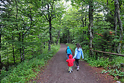 hiking on the mountain Schauinsland, Baden-Wurttemberg, Germany,