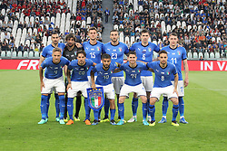 June 4, 2018 - Turin, Piedmont, Italy - The Italian national team before the friendly football match between Italy and Holland at Allianz Stadium on June 04, 2018 in Turin, Italy. Final result: 1-1  (Credit Image: © Massimiliano Ferraro/NurPhoto via ZUMA Press)