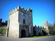 Howth Castle Gatehouse, Howth, Dublin,  built c.1450,