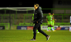 Forest Green Rovers manager Mark Cooper after the final whistle - Mandatory by-line: Nizaam Jones/JMP - 16/01/2021 - FOOTBALL - innocent New Lawn Stadium - Nailsworth, England - Forest Green Rovers v Port Vale - Sky Bet League Two