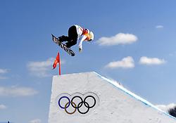 12-02-2018 SNOWBOARDEN: SLOPESTYLE: OLYMPISCHE SPELEN: OLYMPIC GAMES: PEYONGCHANG 2018<br /> Lucile Lefevre (FRA)<br /> <br /> Foto: Soenar Chamid