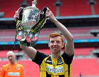 Football - 2019 / 2020 Buildbase FA Vase - Final - Consett vs Hebburn Town - Wembley Stadium<br /> <br /> Michael Richardson of Hebburn <br /> <br /> Credit : COLORSPORT/ANDREW COWIE