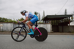 Eleftheria Giahou (GRE) at the 2020 UEC Road European Championships - Junior Women ITT, a 25.6 km individual time trial in Plouay, France on August 24, 2020. Photo by Sean Robinson/velofocus.com