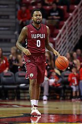26 November 2016:  Darell Combs during an NCAA  mens basketball game between the IUPUI Jaguars the Illinois State Redbirds in a non-conference game at Redbird Arena, Normal IL