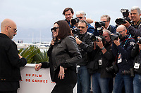 Director Gaspar Noe and actress Béatrice Dalle at Lux Aeterna film photo call at the 72nd Cannes Film Festival, Sunday 19th May 2019, Cannes, France. Photo credit: Doreen Kennedy