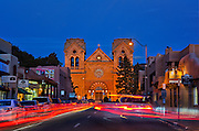 Cathedral Basilica of St. Francis of Assisi, Santa Fe, NM.