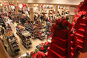 USA, New York City Interior of a department store