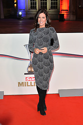 © Licensed to London News Pictures. 14/12/2016. SUSANNAH REID attends The Sun newspaper Millies Military Awards 2016 at Guildhall <br />