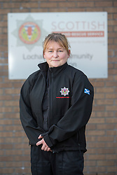 Sarah Jones. News feature on the nearly all-female firefighting crew based at the Fire Shed, Lochaline, on the Morvern Peninsula.
