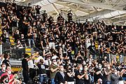 Tifosi Segafredo Virtus Bologna<br /> Segafredo Virtus Bologna - A|X Armani Exchange Olimpia Milano<br /> Finale Playoff Scudetto Gara3<br /> LBA Legabasket Serie A UnipolSai 2020-2021<br /> Bologna, 09/06/2021<br /> Foto L.Canu / Ciamillo-Castoria