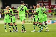 Forest Green Rovers v Bromley FC 170916
