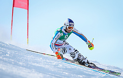 15.02.2013, Planai, Schladming, AUT, FIS Weltmeisterschaften Ski Alpin, Riesenslalom, Herren, 1. Durchgang, im Bild Fritz Dopfer (GER) // Fritz Dopfer of Germany in action during 1st run of the Mens Giant Slalom at the FIS Ski World Championships 2013 at the Planai Course, Schladming, Austria on 2013/02/15. EXPA Pictures © 2013, PhotoCredit: EXPA/ Johann Groder