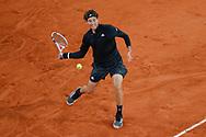 Dominic THIEM (AUT) during the Roland Garros 2020, Grand Slam tennis tournament, on October 4, 2020 at Roland Garros stadium in Paris, France - Photo Stephane Allaman / ProSportsImages / DPPI