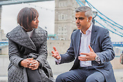 The Mayor of London Sadiq Khan is interviewd after watching Londoners as they warmed-up at City Hall for the international Big Dance Pledge. On Friday 20 May, over 40,000 people in 43 countries around the world will take part in the Big Dance event, which has been specially choreographed by Akram Khan. Among the Londoners were: Students from University of Roehampton; MovE17 community group; Children from John Scurr Primary School; and the Croydon Community Dance group. This year is the finale of Big Dance, celebrating ten years of grassroots and community dance.