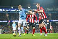 Manchester City v Sheffield United 291219