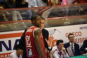 DESCRIZIONE : Pistoia Lega serie A 2013/14  Giorgio Tesi Group Pistoia Pesaro<br /> GIOCATORE : Anosike Oderah, paolo moretti<br /> CATEGORIA : fair play<br /> SQUADRA : Pesaro Basket<br /> EVENTO : Campionato Lega Serie A 2013-2014<br /> GARA : Giorgio Tesi Group Pistoia Pesaro Basket<br /> DATA : 24/11/2013<br /> SPORT : Pallacanestro<br /> AUTORE : Agenzia Ciamillo-Castoria/M.Greco<br /> Galleria : Lega Seria A 2013-2014<br /> Fotonotizia : Pistoia  Lega serie A 2013/14 Giorgio  Tesi Group Pistoia Pesaro Basket<br /> Predefinita :