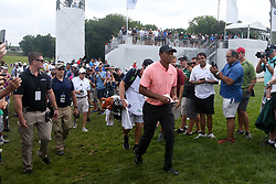 September 7, 2018 - Newtown Square, Pennsylvania, United States - Tiger Woods approaches the 11th tee during the second round of the 2018 BMW Championship. (Credit Image: © Debby Wong/ZUMA Wire)