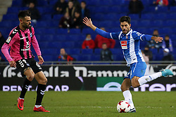 November 30, 2017 - Barcelona, Catalonia, Spain - Didac Vila during the Copa del Rey match between RCD Espanyol and CD Tenerife,i n Barcelona, on November 30, 2017. (Credit Image: © Joan Valls/NurPhoto via ZUMA Press)
