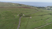 Glens of Antrim Ireland aerial view June 2018 aerial photos