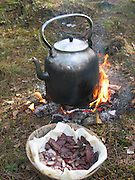 The sami people of the nordic countries have long traditions for using every part of the reindeer for food and products. Reindeer meat have a very special taste and the fat contains healthy omega-3.
