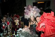 FABIO CAINE; MARTA MARZOTTO; Francesca Bortolotto Possati. Francesca Bortolotto Possati, Alessandro and Olimpia host Carnevale 2009. Venetian Red Passion. Palazzo Mocenigo. Venice. February 14 2009.