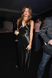 REBECCA LOOS at the London Red Cross Ball themed 'Honky Tonk Blues' held at 99 Upper Ground, London SE1 on 21st November 2007.<br />