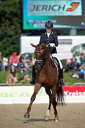 Bruntink Vai (NED) - Darabel<br /> FEI World Dressage Championships for Young Horses<br /> Internationales Dressur- und Springfestival - Verden 2014<br /> © Dirk Caremans