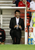 Photo: Steve Bond/Richard Lane Photography. Nottingham Forest v Sunderland. Pre Season Friendy. 29/07/2008. Roy Keane watches the 2nd half from the dugout