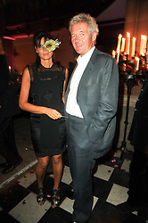 COUNT & COUNTESS LEOPOLD VON BISMARCK at 'Superficial Butterfly' a party hosted by Amanda Eliasch to celebrate her 50th birthday held at Number One Mayfair (St Marks Church) North Audley Street, London on 12th May 2010.