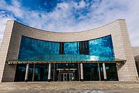 Exterior view, Xinjiang Museum, Urumqi, Xinjiang Province, China.