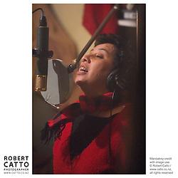 Mahinarangi Tocker records The Mongrel In Me at Braeburn Studios, Wellington New Zealand.