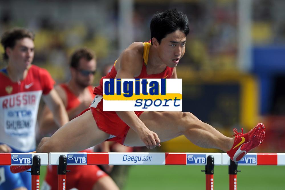 ATHLETICS - IAAF WORLD CHAMPIONSHIPS 2011 - DAEGU (KOR) - DAY 2 - 28/08/2011 - 110M HURDLES - XIANG LIU (CHN) - PHOTO : FRANCK FAUGERE / KMSP / DPPI