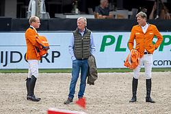 Team Netherlands, Greve Willem, Lansink Jos, Houtzeager Mark<br /> CHIO Rotterdam 2021<br /> © Dirk Caremans<br />  02/07/2021