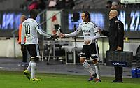 Fotball Tippeligaen Rosenborg - Odd<br /> 13 april 2014<br /> Lerkendal Stadion, Trondheim<br /> <br /> Bytte Rosenborg : Ut : John Chibuike (V), Inn : Mikkel Mix Diskerud (H)<br /> <br /> <br /> Foto : Arve Johnsen, Digitalsport