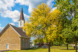 """The town of New Melle is home to one of the oldest Lutheran settlements in St. Charles County, Missouri. In 1839, settlers from Melle in Lower Saxony settled here, thus the name of """"New Melle."""" St. Paul's parish was later established in 1844. The parish predates the Missouri Synod by three years, and it eventually became one of only twelve churches who signed the original charter which established the Missouri Synod in 1847."""