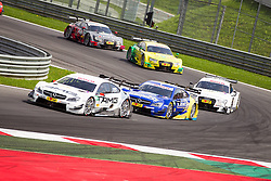 03.08.2014, Red Bull Ring, Spielberg, AUT, DTM Red Bull Ring, Renntag, im Bild Paul Di Resta, (GBR, Mercedes AMG C-Coupe), Gary Paffnett, (GBR, EURONICS Mercedes AMG), Nico Mueller, (SUI, Audi Financial Services Audi RS 5 DTM), Mike Rockenfeller, (CAN, Schaeffler Audi RS 5 DTM), Edoardo Mortara, (GER, Audi Sport Audi RS 5 DTM) // during the DTM Championships 2014 at the Red Bull Ring in Spielberg, Austria, 2014/08/03, EXPA Pictures © 2014, PhotoCredit: EXPA/ M.Kuhnke