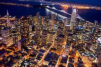 Downtown San Francisco @ Night III