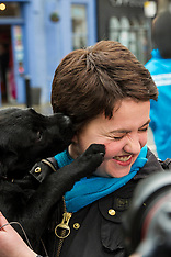 Ruth Davidson on the campaign trail | Edinburgh | 3 April 2016